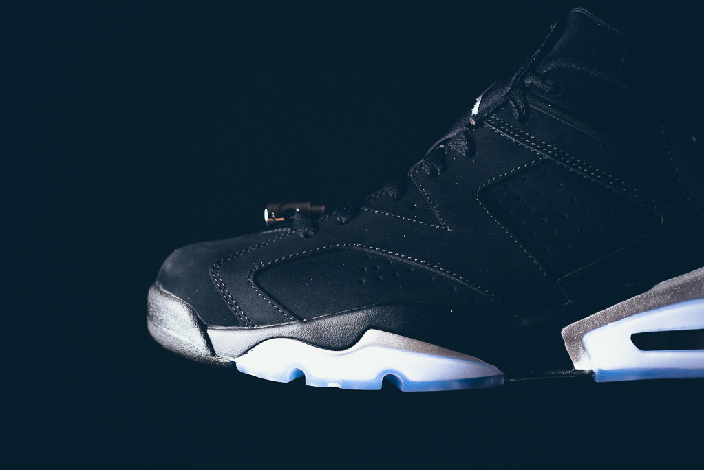 Air Jordan 6 Low Black/Chrome 304401-003 (3)