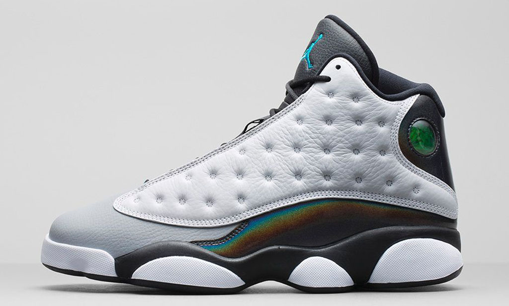bacca982c9ab An Official Look at the  Hologram  Air Jordan 13 Retro