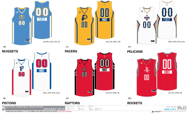 An Early Look at Next Season's NBA Uniforms | Sole Collector