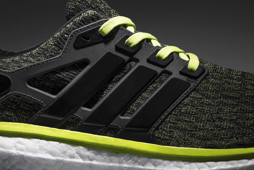 adidas energy boost black green