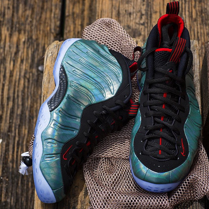 7a027c42b35e9 Your Best Look Yet at the  Gone Fishing  Foamposites. A scaly pair that s  releasing in June.