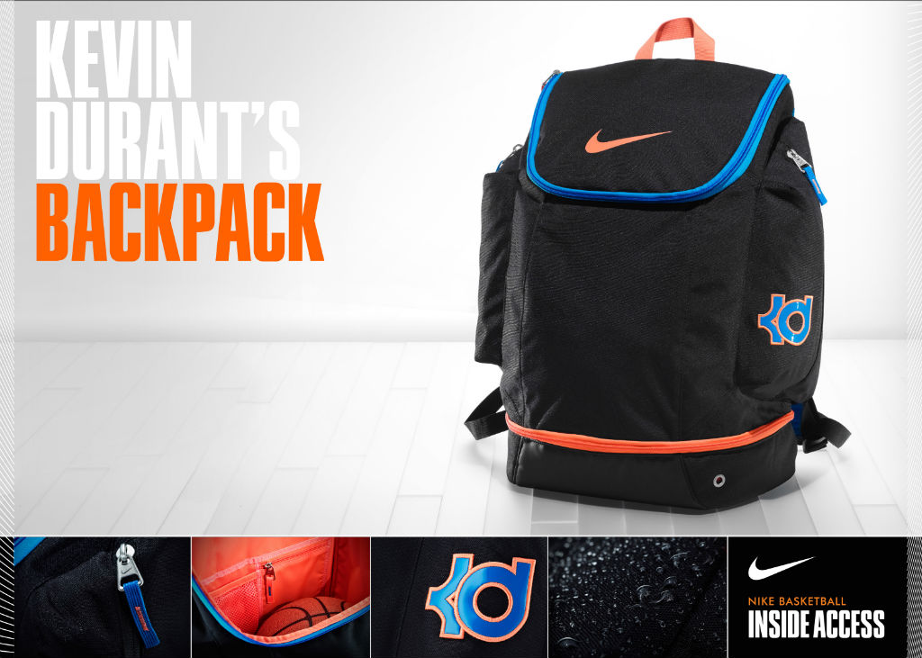 Kevin Durant's Nike Backpack: Inside Access (7)