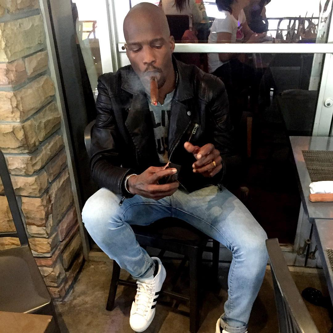 Chad Johnson wearing the adidas Originals Pro Model