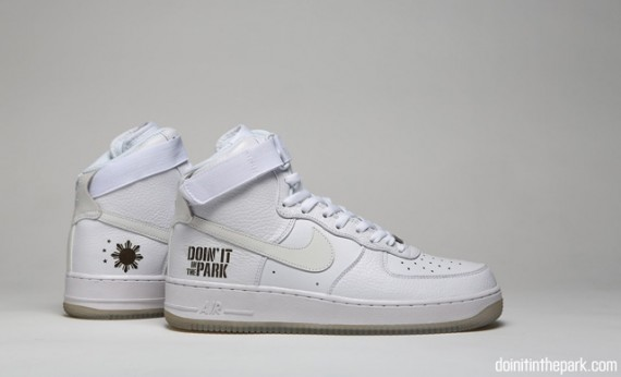 size 40 e0fc2 29fc7 The Doin it in The Park Nike Air Force 1 High is limited to two pairs and  will not be released to the public.