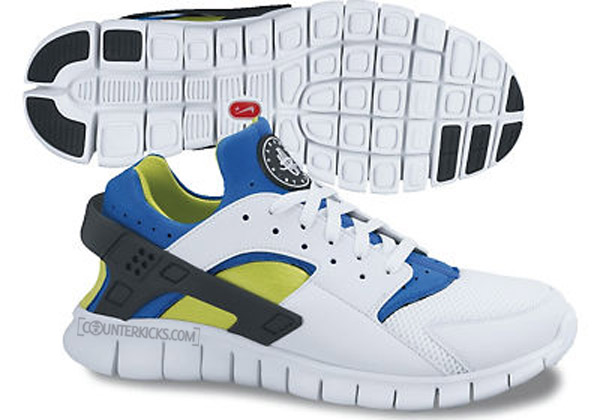 new concept a2a88 3b9aa These colors of the Nike Huarache Free Run are scheduled to drop as part of  the Summer 2012 line.