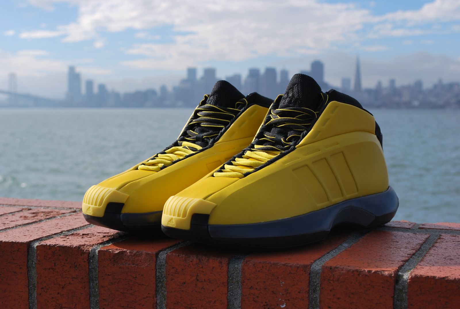 adidas Crazy 1 San Francisco skyline