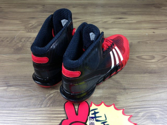 adidas Crazyquick Black Red (3)