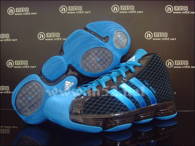 975e7c12500 adidas Pro Model 2010 Lux - Black Bright Blue