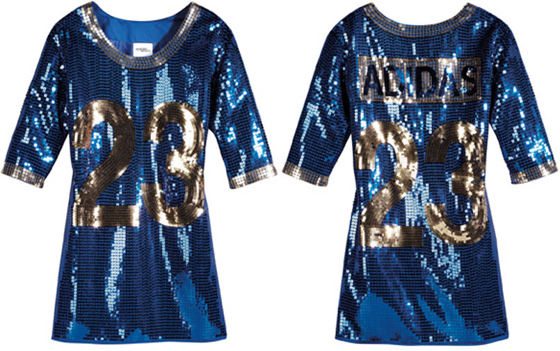 adidas Originals by Jeremy Scott - Spring/Summer 2012 - JS Sequined Football Dress X36900