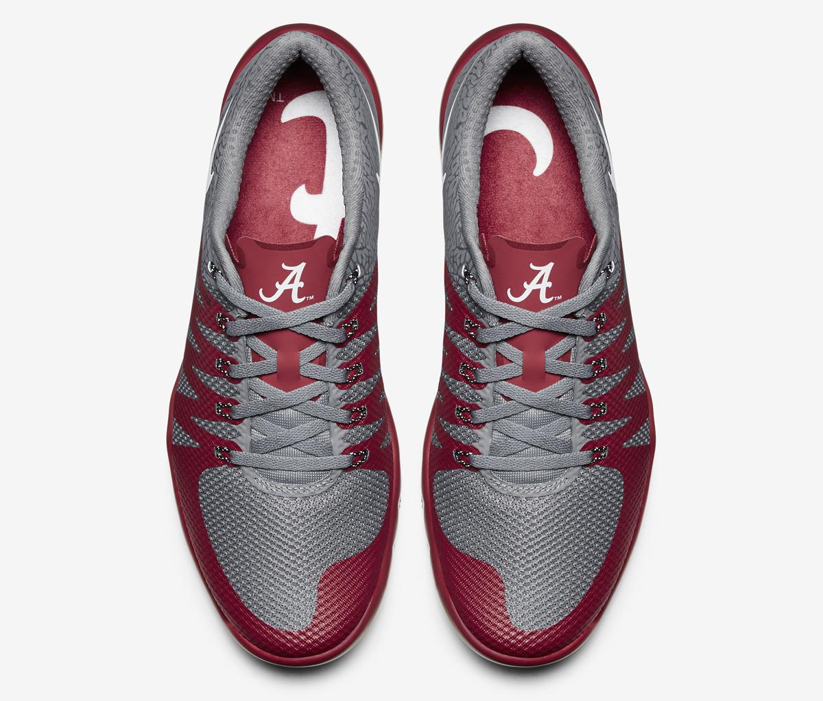 nike free trainer 5.0 v6 amp (alabama) mens training shoe