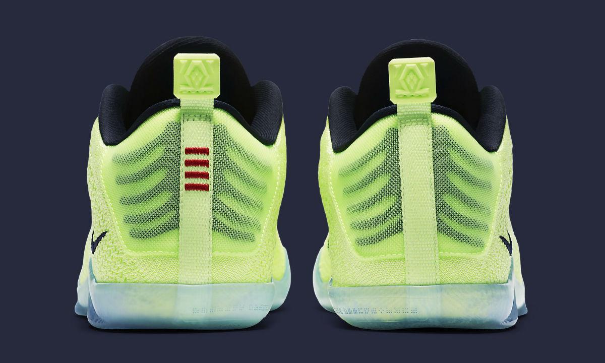 9d4d89f4829d Nike Kobe 11 Elite 4KB Liquid Lime Heel 824463 334