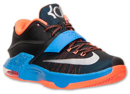 watch 5fff6 c20ae ... Nike KD VII 7 OKC Away 653996-004 (1) ...