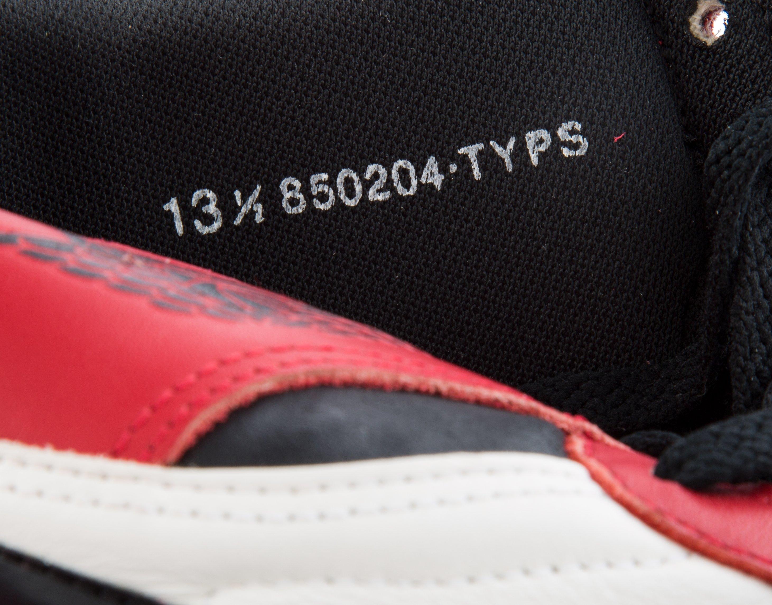 Michael Jordan Signed Air Jordan 1 1985 Mint Condition TYPS