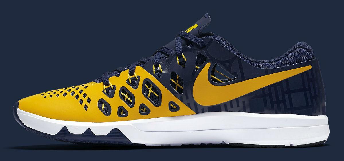 Michigan Nike Train Speed 4 Medial 844102-417
