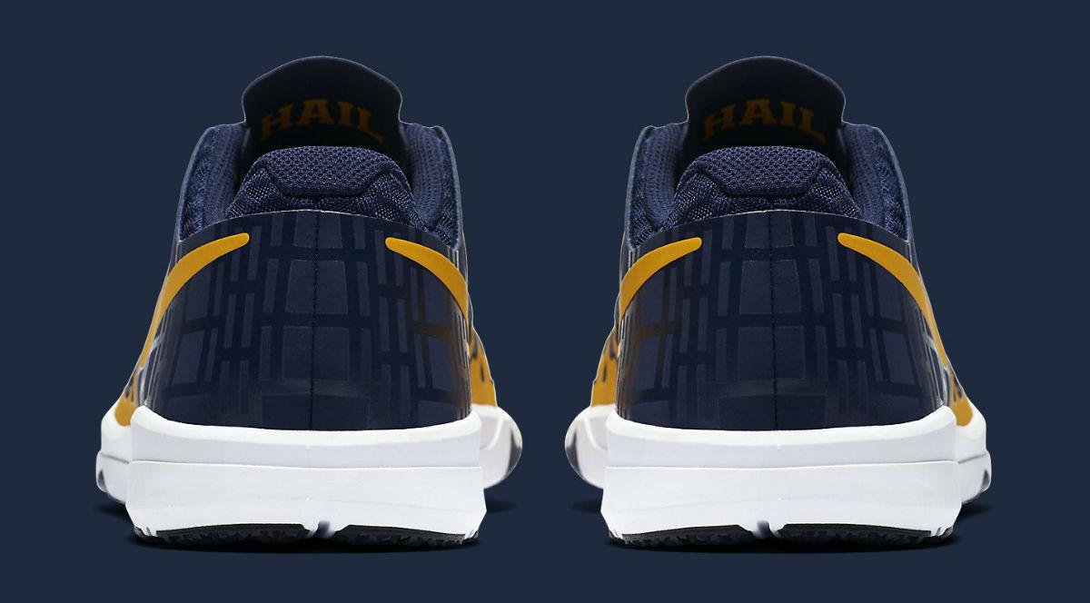 Michigan Nike Train Speed 4 Heel 844102-417