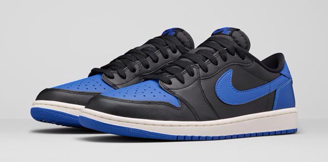 The 'Royal' Air Jordan 1 Low Is Keeping a Low Profile | Sole ...