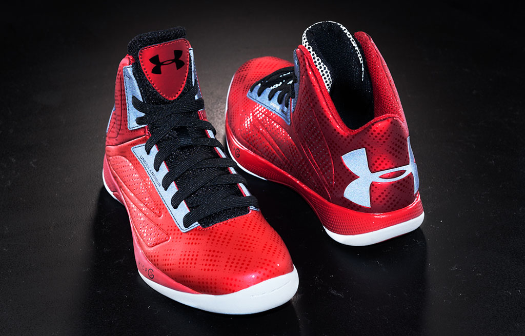 Under Armour Micro G Torch Red Black Silver (1)