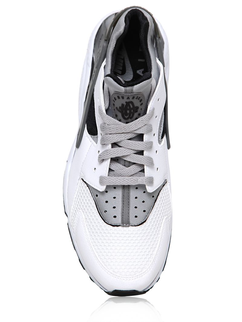 Nike Air Huarache White And Grey