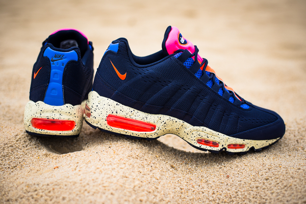 wholesale dealer c1cd6 fdaed The Beaches of Rio Air Max 95 EM is available now at select Nike Sportswear  locations.