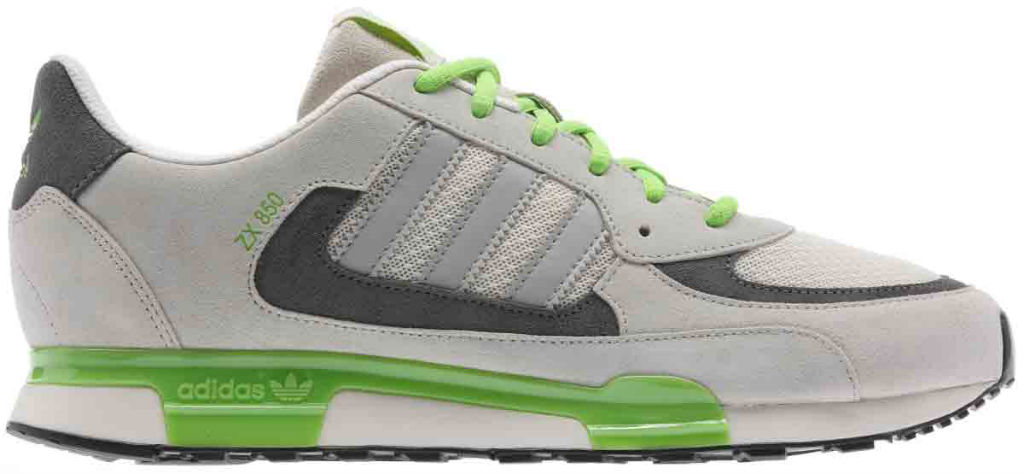 adidas Originals ZX850 Grey Green Q22082