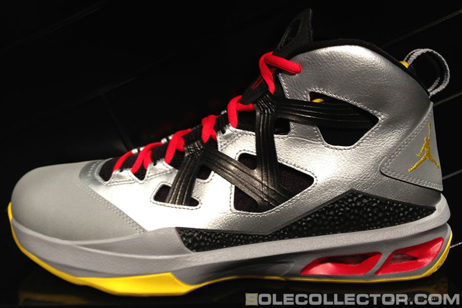 outlet store 9376c 29d28 Jordan Melo M9 - Metallic Silver/Black-Challenge Red-Tour ...