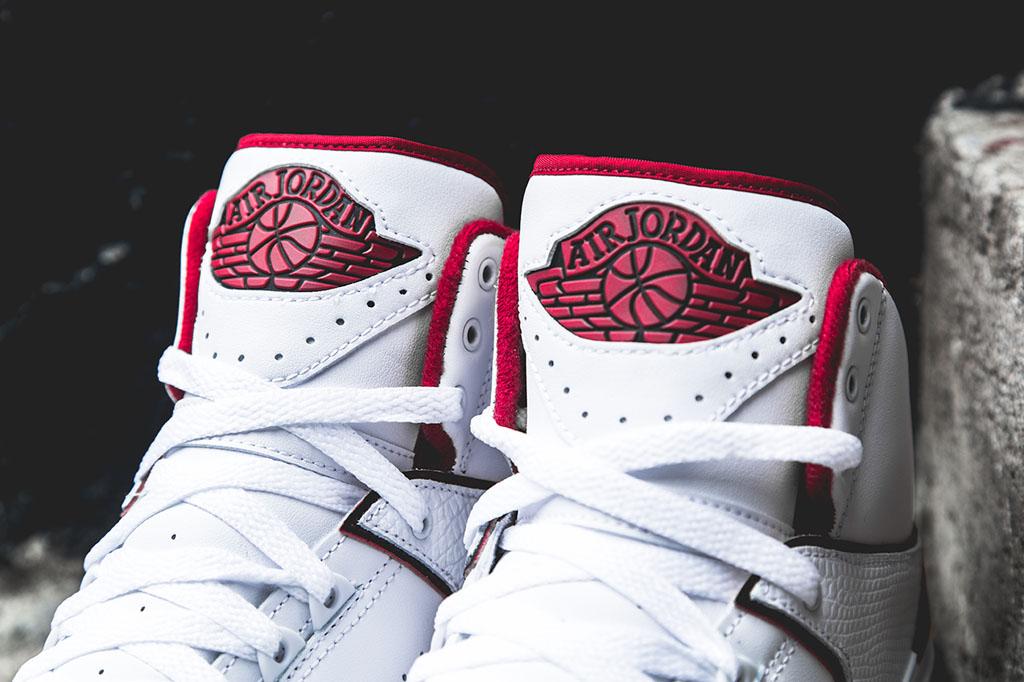 separation shoes 5c20c b7b6d Air Jordan 2 Retro - White/Red | Sole Collector