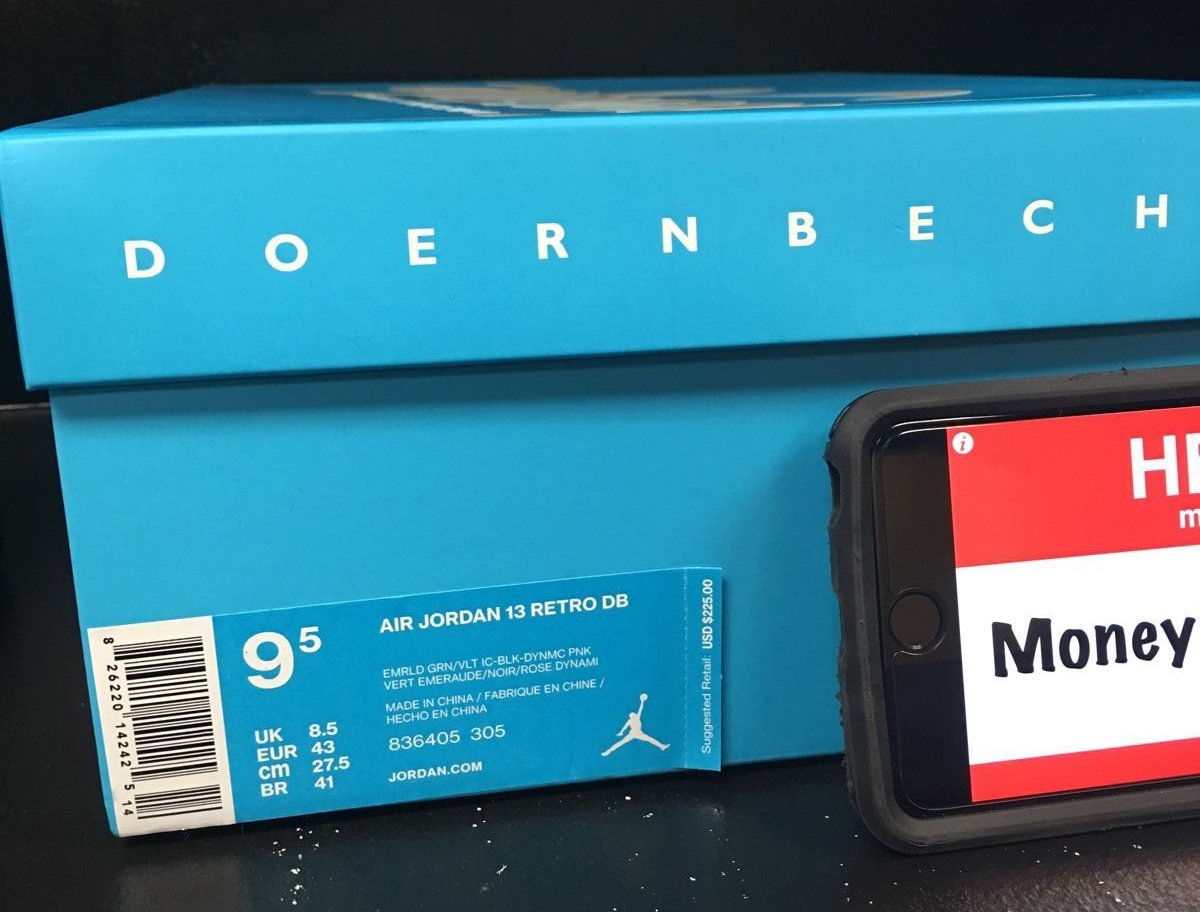 4856cfab146e Doernbecher Air Jordan 13. Release Date  11 21 15. Style    836405-305.  Price   225
