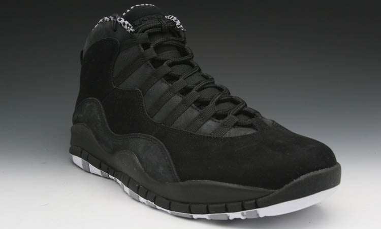Air Jordan X 10 Black White Stealth 310805-003 (1)