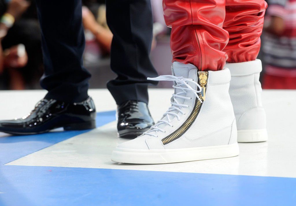 Ace Hood wearing Giuseppe Zanotti Double-Zip Sneakers (2)