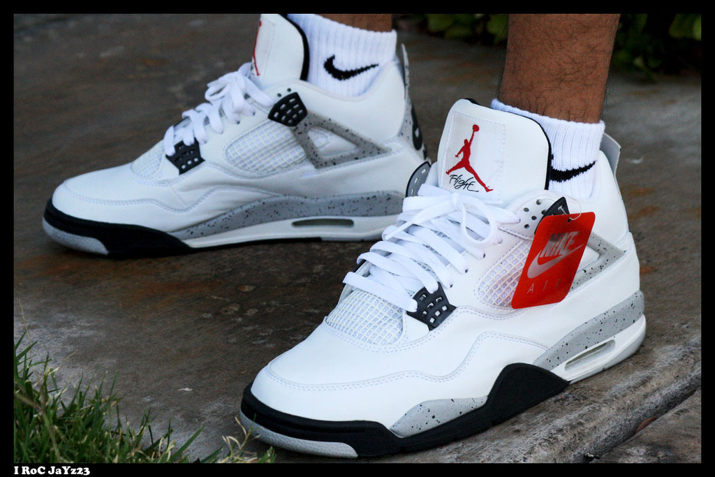 Spotlight // Forum Staff Weekly WDYWT? - 11.4.13 - Air Jordan 4 IV Retro '99 Cement by I RoC JaYz23