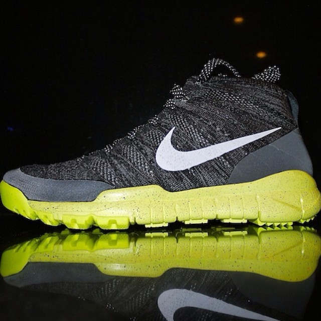 DJ Clark Kent Picks Up Nike Flyknit Trainer Chukka FSB