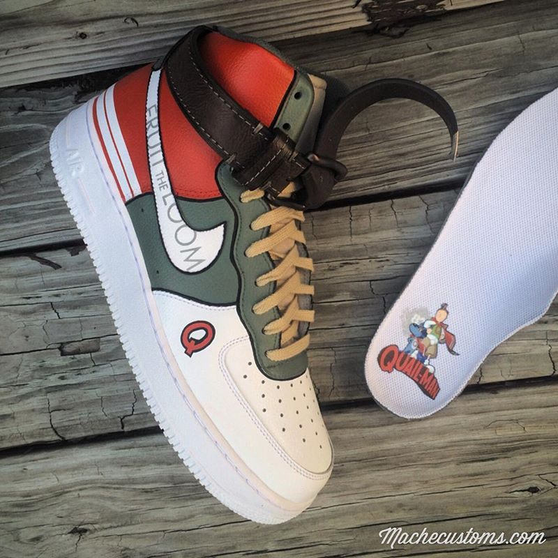 Doug Quailman Nike Air Force 1 Custom Sneakers