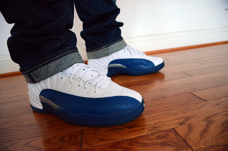 Air Jordan 12 French Blue On Feet ukpinefurniture.co.uk 3783d1a3e1d