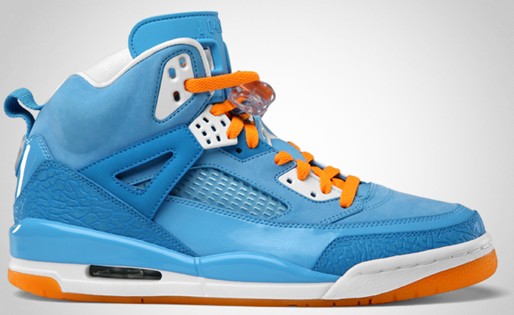 Air Jordan Blue And Orange