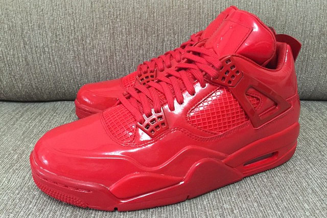 Air Jordan 11Lab4 Red 719864-600 (16)