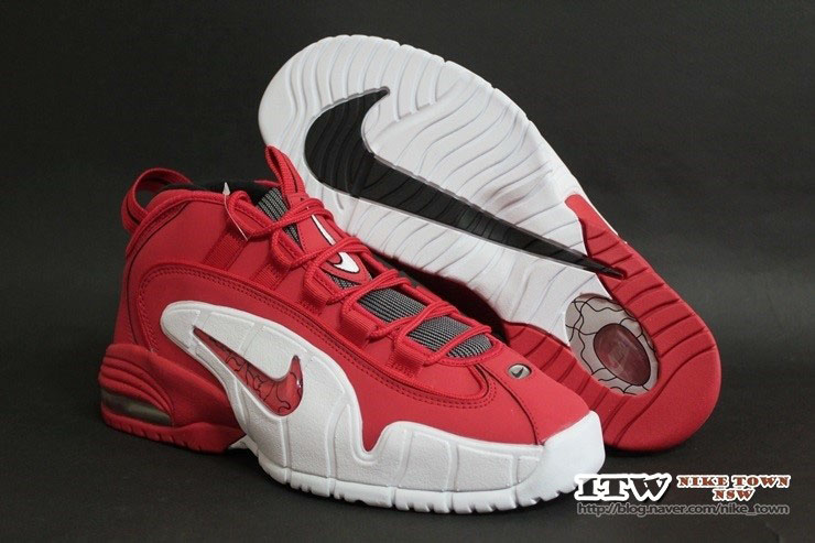 Nike Air Max Penny 1 Red 685153-600 (4)