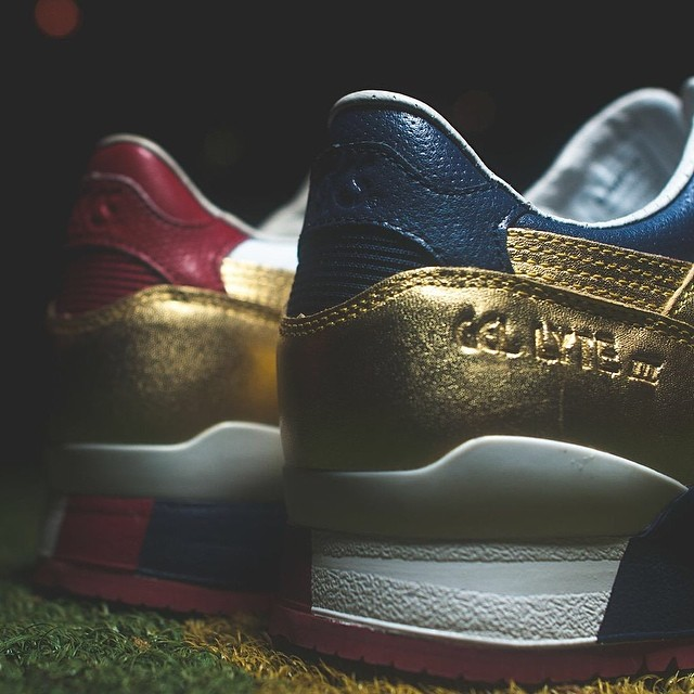 cheap for discount 34971 0b6b0 UPDATE Ronnie Fieg Teases Golden ASICS Gel-Lyte III