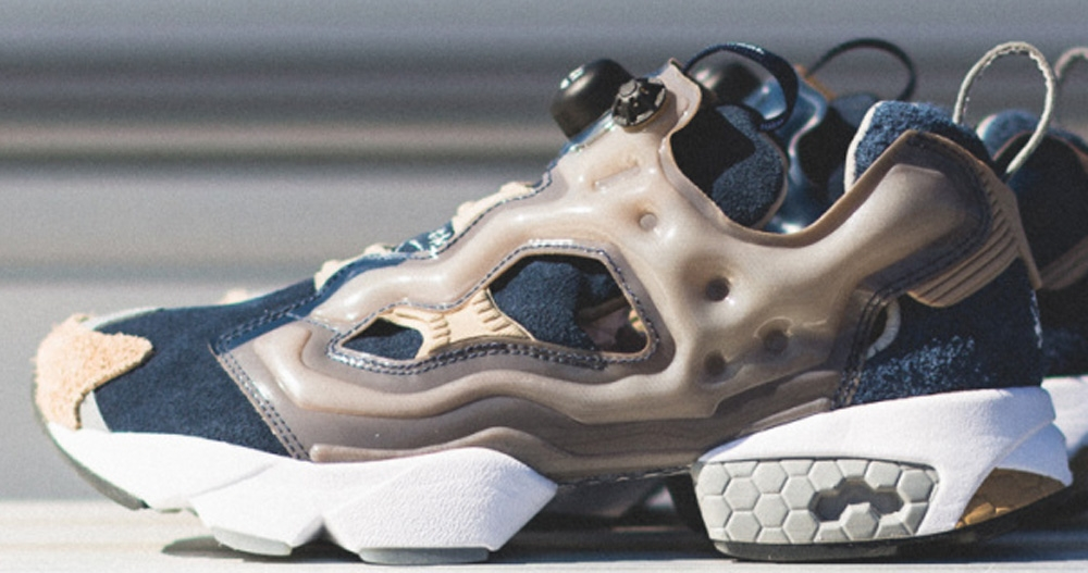 Reebok Instapump Fury Athletic Navy/Canvas-White