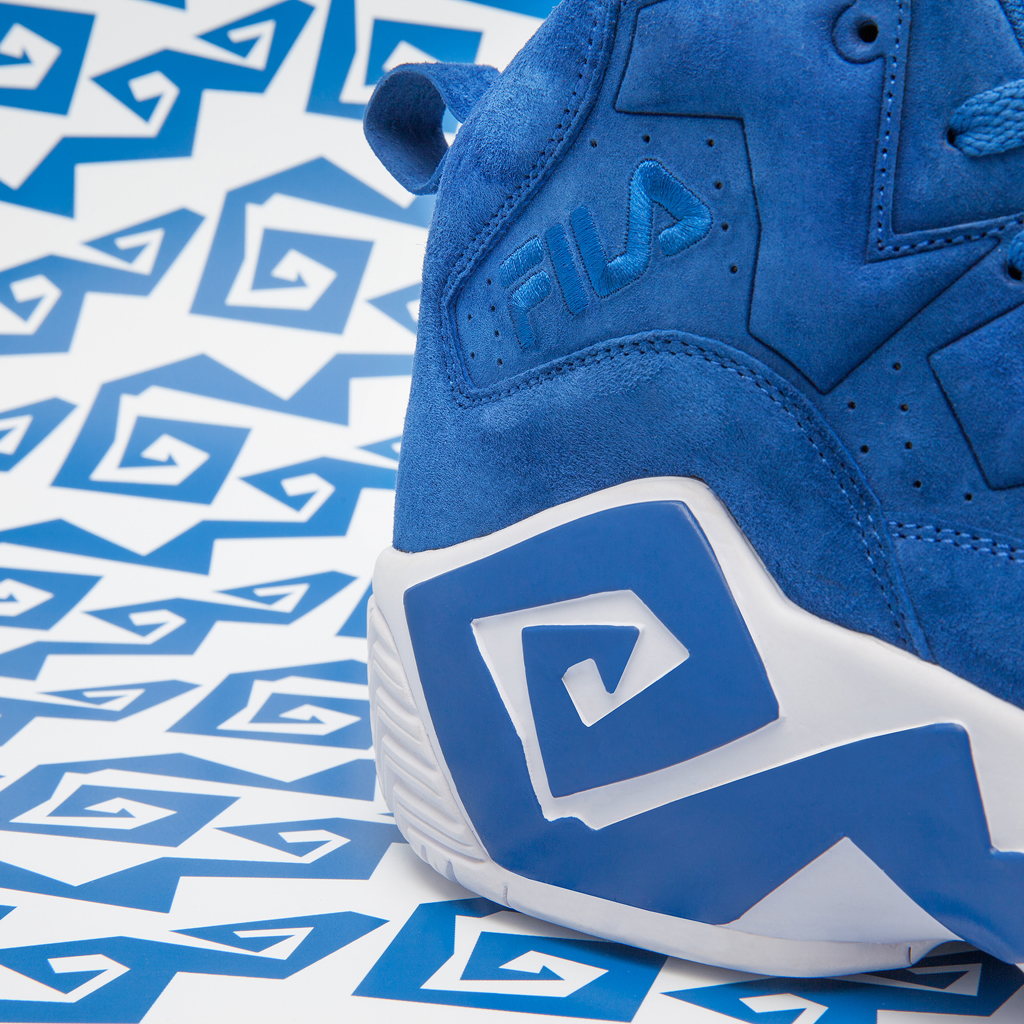 sale retailer f7d95 07b62 An Exclusive Look at the Oneness x Fila MB  Kentucky    Sole Collector