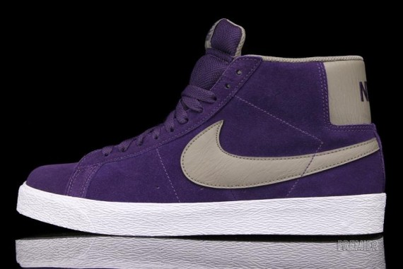 Nike SB Blazer High - Quasar Purple - Now Available  cfd8666f5a03
