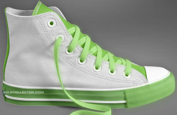 Converse Glow in the Dark Shoes Sneakers Chuck Taylor All Star (4)