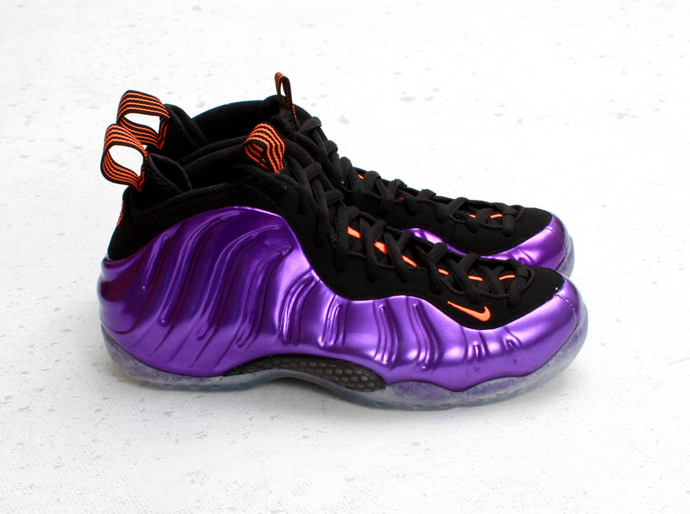 huge discount a9526 c264e The  Electro Purple Total Orange-Black  Air Foamposite One available this  Saturday, March 2nd for  225. Like all Foamposite One releases, ...
