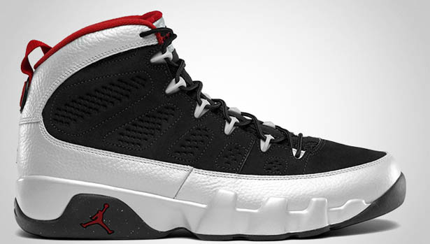 the latest 7d8b8 c023d 10 06 2012 Air Jordan 9 Retro 302370-012 Black Metallic Platinum-Gym Red   160.00