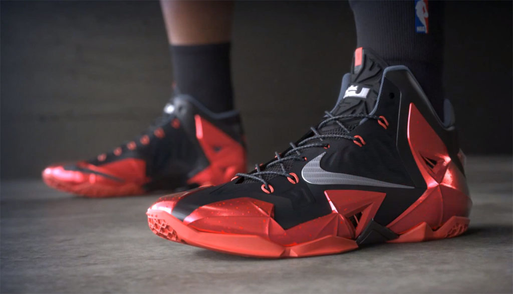 buy popular d9b7f dd26e Nike LeBron 11  Away     Video