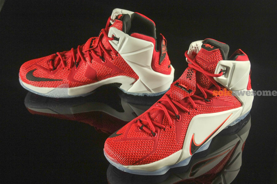 Nike LeBron XII 12 Lion Heart Red/White 684593-601 (2)