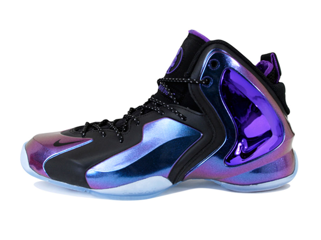 Nike Lil Penny Posite 'Eggplant'   Sole