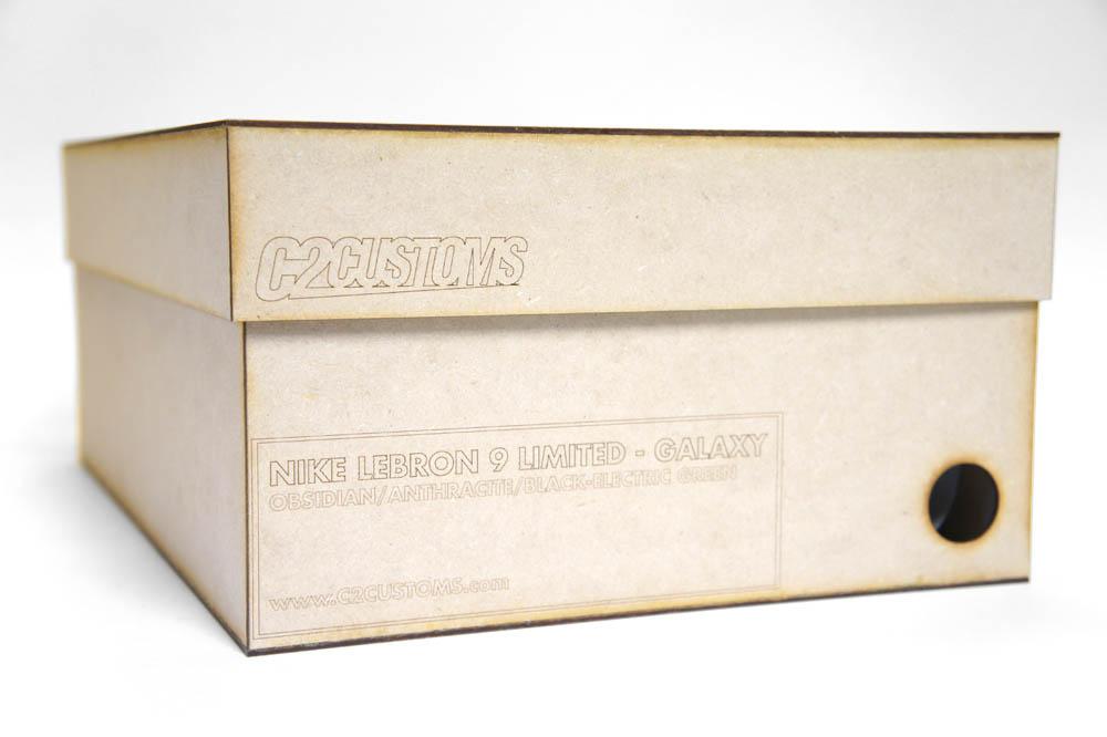 official photos e6d47 8a000 Nike LeBron 9 Foamposite Galaxy by C2 Customs (15)