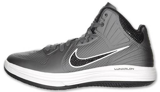 finest selection a2252 65d4a Nike Lunar Hypergamer Grey Black White 469756-009 1