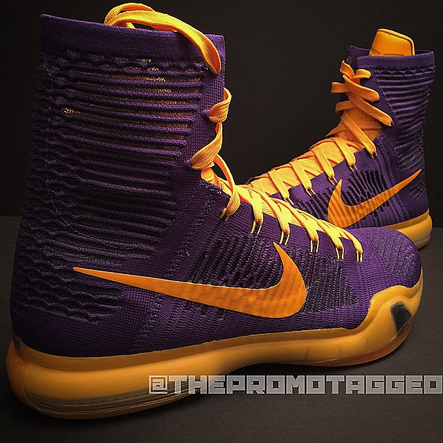 a true lakers nike kobe 10 elite sole collector