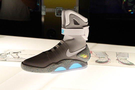 the latest 2bd0d da3de Back To The Future Nike Air Mag